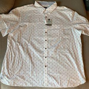 Men's 3X Big and Tall Never Tuck Van Heusen Shirt